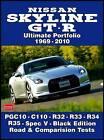 Nissan Skyline GT-R Ultimate Portfolio 1969-2010 by Brooklands Books Ltd (Paperback, 2010)