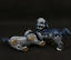 "thumbnail 4 - 6.3"" China Jingdezhen Blue White Porcelain Foo Fu Dog Guardion Lion Statue Pair"
