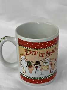 Mary-Engelbreit-034-Let-It-Snow-034-Coffee-Mug-Tea-Cup-Christmas-Winter-Holiday