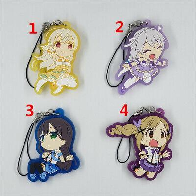 T1057 Anime Puella Magi Madoka Magica Rubber Keychain Key Ring Straps cosplay