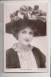 Vintage Postcard Nina Sevening English stage actress and singer