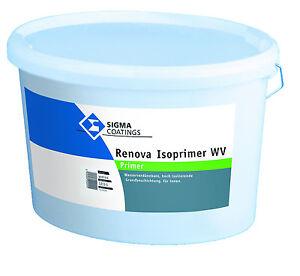 Sigma SIGMARENOVA Isoprimer WV 5 Liter -pigmentierter  isolierender Grund