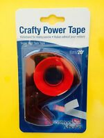 Crafty Power Tape Scrapbook Adhesives 3l 3/8 X 20' Tacky Free Shipping