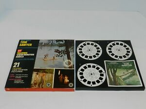 Tom-Sawyer-GAF-Talking-View-Master-Reels-Box-Set-AVB340-AVB-340