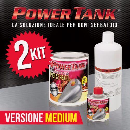 KIT MEDIO Più economico di tankerite 2 Power Tank trattamento ripara serbatoi
