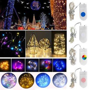 10 20 30 Micro-Mini Lumières LED chaîne lumières Chaînes Noël à piles