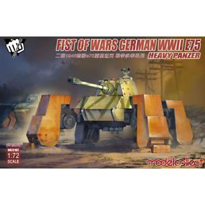 Modelcollect 1//72; Fist of War German WWII E75 heavy panzer