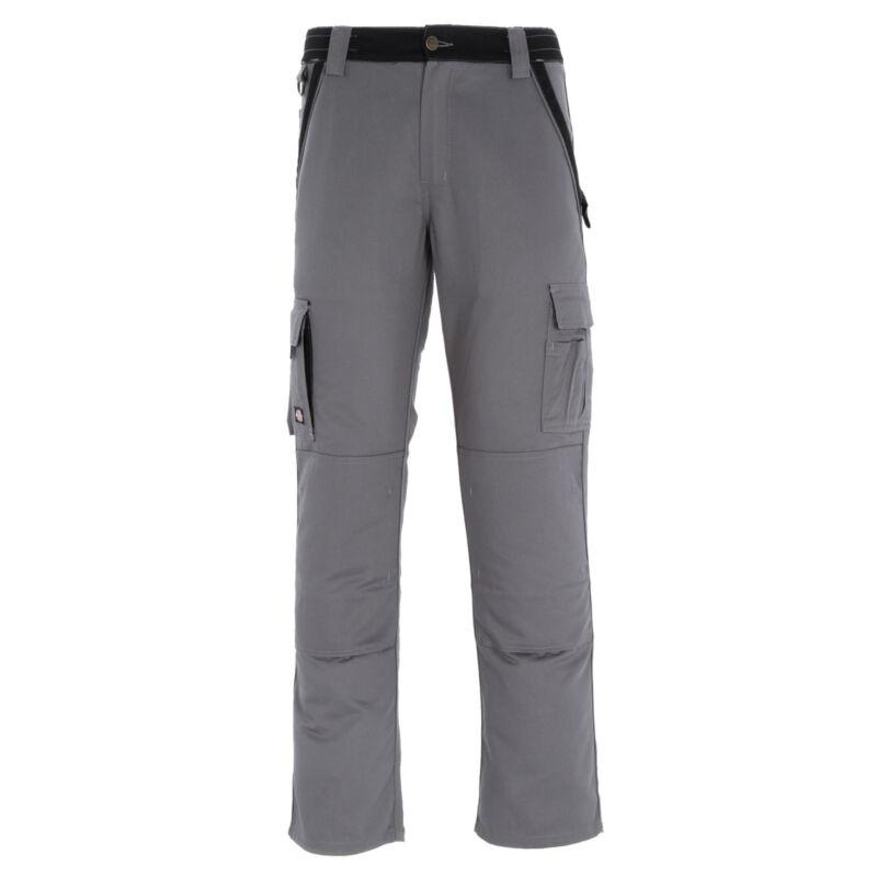 Dickies Industria 300 Dos Tonos Pantalones De Trabajo Gris/negro In30030