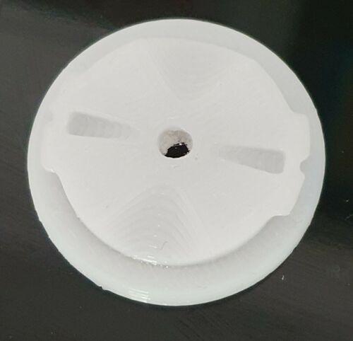NEW GARMIN EDGE WHITE QUARTER TURN REPLACEMENT REPAIR BACK TAB PART PETG