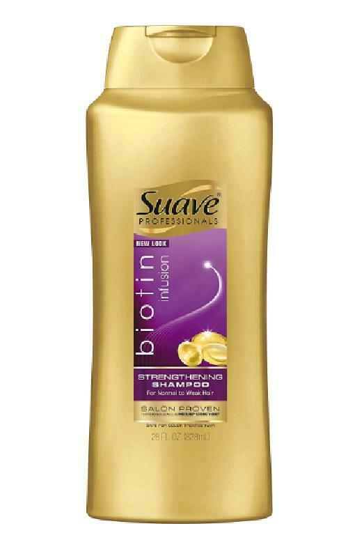 Hair Strengthening Shampoo Color Treated Safe Biotin Infusion Grooming 28 Ounce
