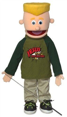 Alberne puppen eddie  jesus ist mein superheld  25 - zoll - full body marionette sp2601r