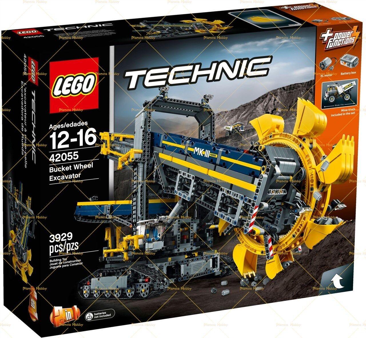 LEGO 42055 Technic - Escavatore da Miniera 42055 Esclusivo!