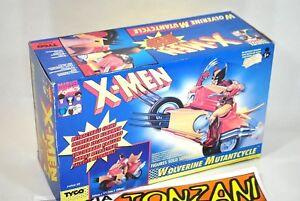 X-MEN-WOLVERINE-MUTANTCYCLE-TYCO-4962-20-ANNI-80-039-Fondo-di-magazzino-COMICS