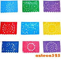 Mexican Fiesta Multi-color Party Flags
