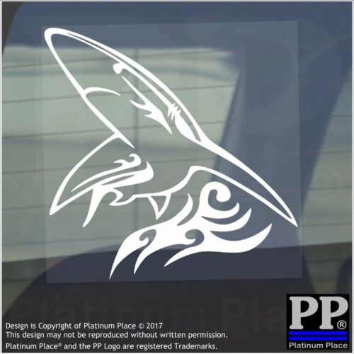 Shark Flame-Vinyl Sticker-Car Window Graphic Decal Sign Animal,Great White,Teeth