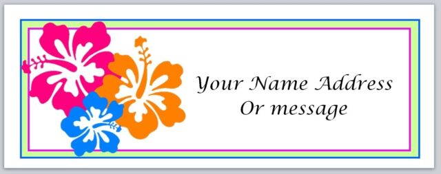 P 295 30 Personalized Address Labels Lavender Flowers Candles Buy 3 Get 1 free