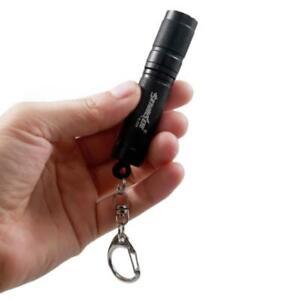 Mini XPE LED Keychain Light Pocket Flashlight Key Ring Lamp Torch AAA
