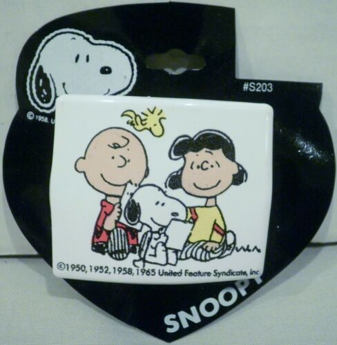 Karina Inc Peanuts Charlie Brown Snoopy Lucy & Woodstock Hair Barrette Clip