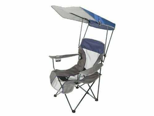 Durable Canopy Chair Perfect for Sideline Sports Tailgating Camping  Navy