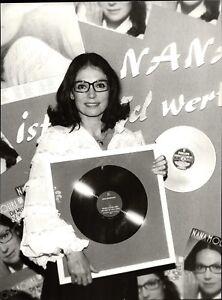 Nana-Mouskouri-Vintage-Photo-de-Presse-Photo-Norbert-Unfried-U-1054