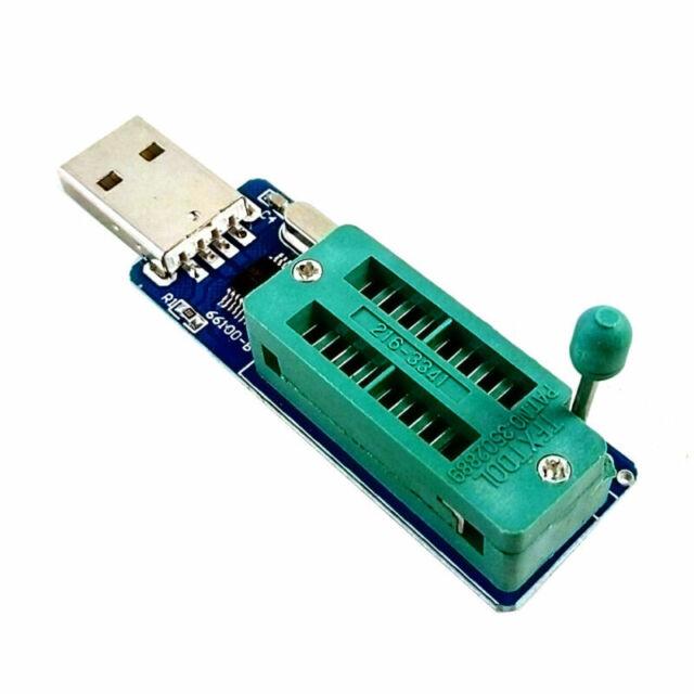Support XP VISTA WIN7 USB Port 24CXX EEPROM Programmer Reader Writer to 24C1024