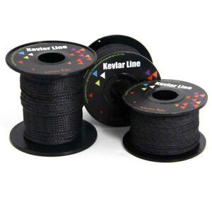 100lb-1800lb-Braided-100-Kevlar-Line-Utility-Cord-Fishing-Camping-Tactical