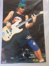 Pearl Jam Vintage Rock Promo Music Poster Memorabilia