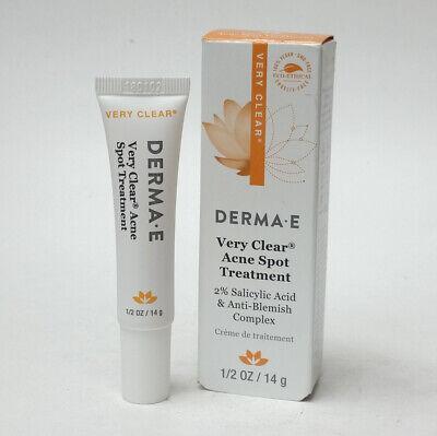 Derma E Very Clear Acne Spot Treatment Salicylic Acid Anti