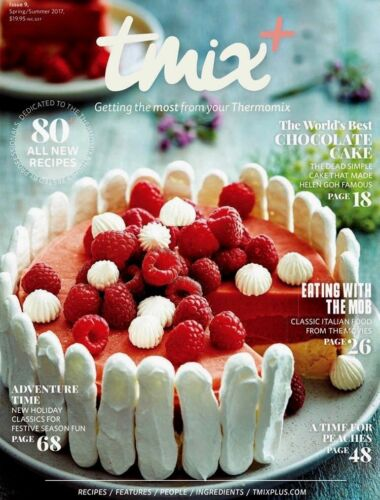 TMix+ Issue 9 SpringSummer 2017 Edition Thermomix Cookbook 80 New Recipes