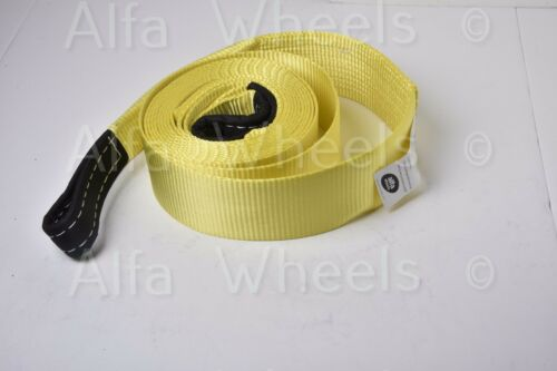 """3/"""" 20000 lbs 9T 3x20 ft auto car SUV Truck Tow Strap rope winch off-road recover"""