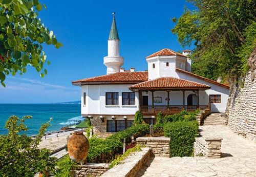 Castorland Schwarzes Meer Hafenstadt H Puzzle 1000 Teile Baltschik Bulgarien
