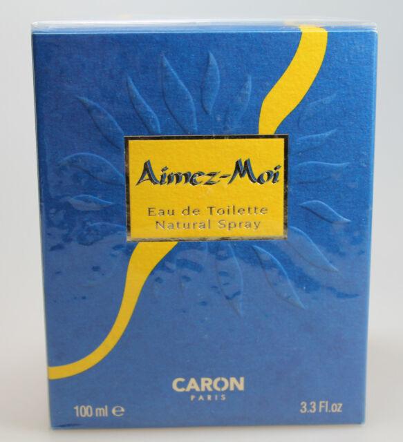 Caron Aimez-Moi 100 ml Eau de Toilette EdT Spray Neu / Folie