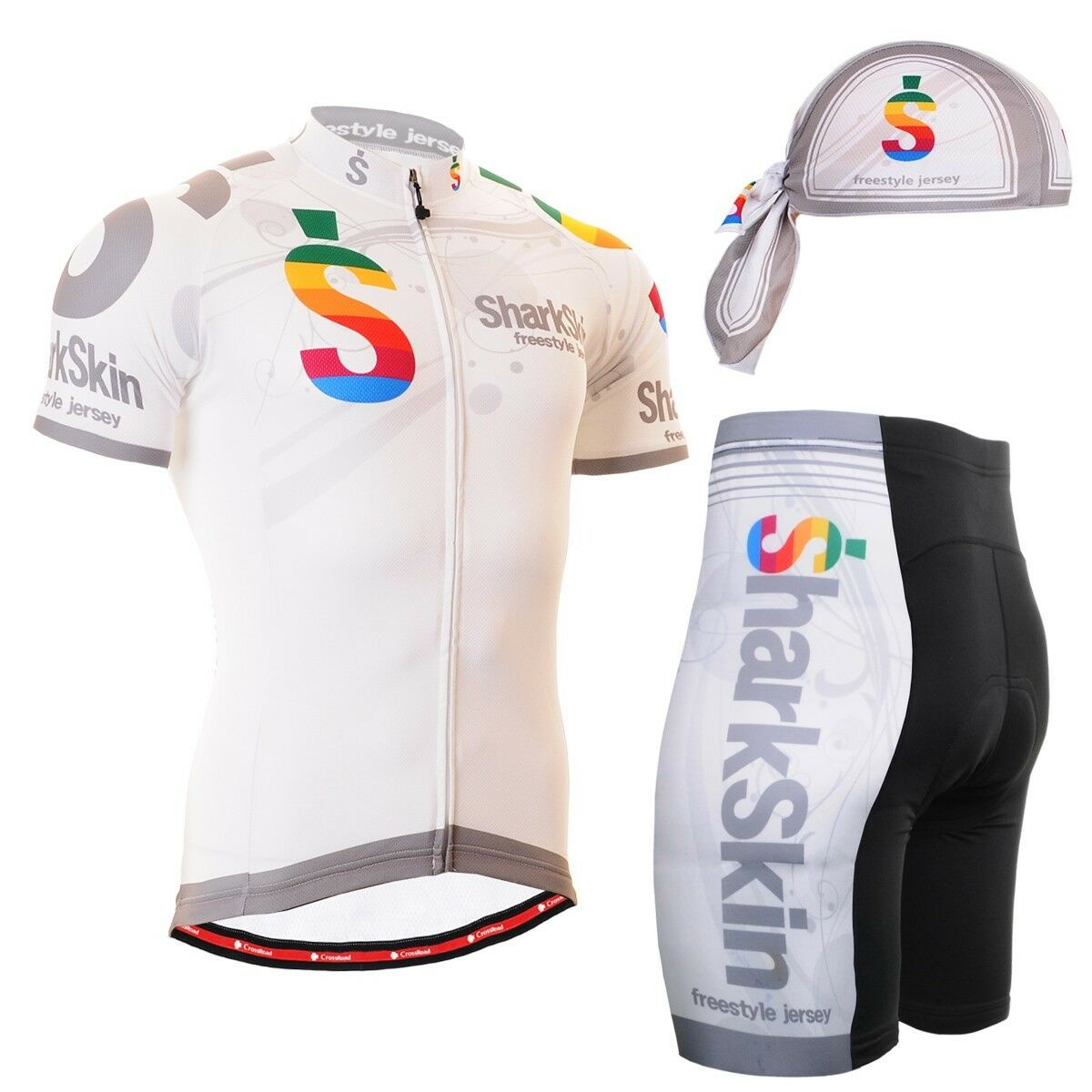 FIXGEAR CS-g702 SET Cycling Jersey & Shorts Bike, Padded, MTB Bike, Shorts BMX, Beanie GIFT 826a19