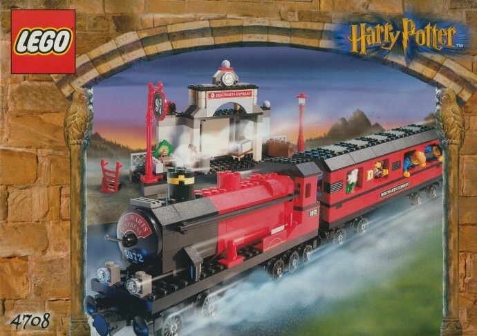 LEGO 4708 - HARRY POTTER Hogwarts Express - 2001 2001 2001 w  BOX 1d3041