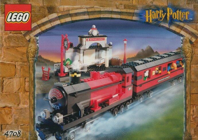 LEGO 4708 -  HARRY POTTER Hogwarts Express - 2001 - NO BOX  avec le prix bon marché pour obtenir la meilleure marque