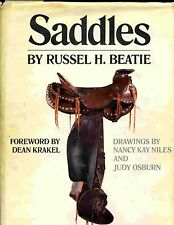 Heavy Hardback Western SADDLE History Book Encylopedia by BEATIE  MAKE OFFER