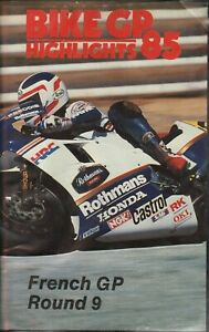 1985-Motorcycle-Racing-Highlights-French-GP-Round-9-Le-Mans-VHS-Video-Tape