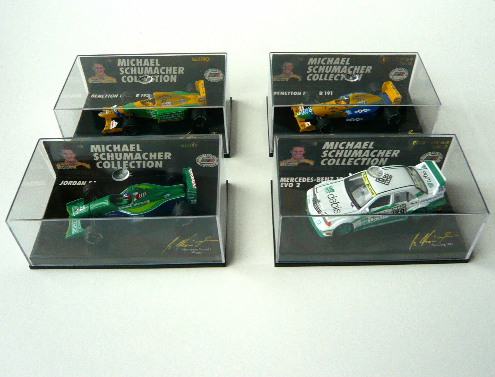 tienda de pescado para la venta MS-Collection jordan f1 benetton ford b191 192 mercedes benz 190e 190e 190e evo 2 1 64  de moda