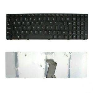 Laptop keyboard with black frame for Lenovo G500s G505s G510s Z510 UK fast ship