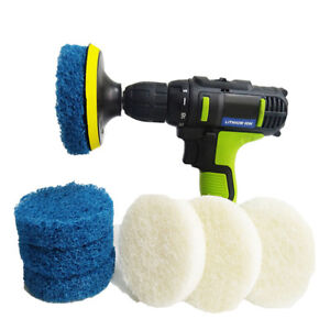 AU-Power-Scrubber-Drill-Plate-Brushes-Cleaning-Sofa-Bathroom-Tile-Grout-Waxing