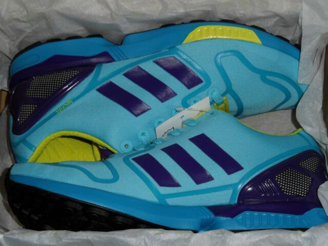 new product f1d50 69a43 coupon for adidas zx 8000 aqua 80b8e 04d1e  coupon code adidas originals zx  8000 flux techfit og bright cyan blue trainers uk size 4