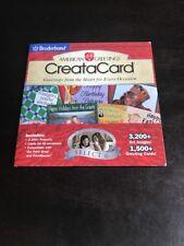 Broderbund american greetings creatacard plus 4 ebay american greetings creatacard broderbund select 6 pc cd m4hsunfo