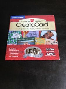 American greetings creatacard broderbund select 6 pc cd ebay image is loading american greetings creatacard broderbund select 6 pc cd m4hsunfo
