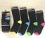 6 12 Packs Tacco /& Toe Socks Abito Formale Lavoro Ufficio Casual Calzini Assortiti