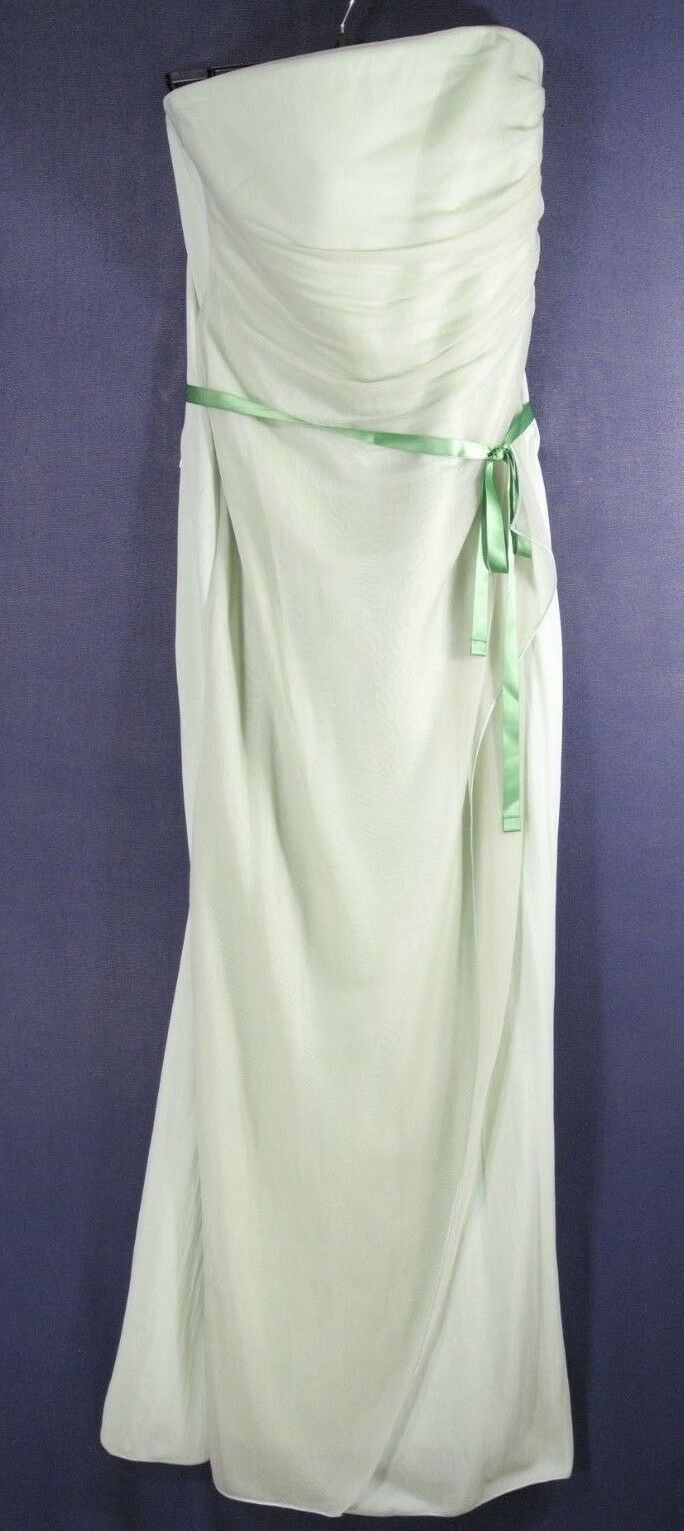 NEW Giorgio Armani Strapless Tie Ribbon Evening Dress size 44