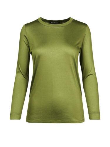 34 und 36 Doppeloptik 2 in 1 Effekt Grün Ton Shirt Tunika Gr 204 Heine B.C
