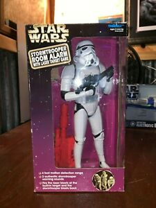Star-Wars-Stormtrooper-Alarm-With-Laser-Target-Game-Tiger-Electronic-Inc