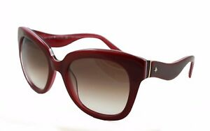 1c2352d340 Kate Spade New York Amberly s Sunglasses Red Cateye Pink Gradient ...