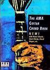 The AMA-Guitar Chord Book - englisch sprachig (1995, Geheftet)