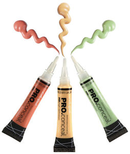 L-A-Girl-Pro-Conceal-HD-Concealer-Orange-Yellow-Green-Corrector-Set-GC990-GC992